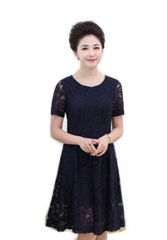 Đầm zen nữ thời trang Naza NAV06 (Xanh đen)