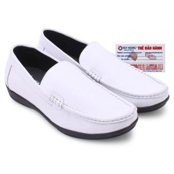 HL7117 - Giày mọi nam Huy Hoàng màu trắng
