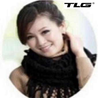 Khăn Len Nữ Dệt Kim Tua TL6312-3 (Đen)