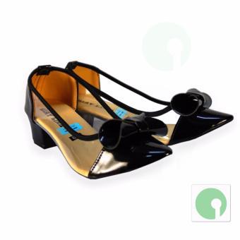 Giày cao gót nữ thời trang Delana thanh lịch quý phái - NGL-209DE (Đen)