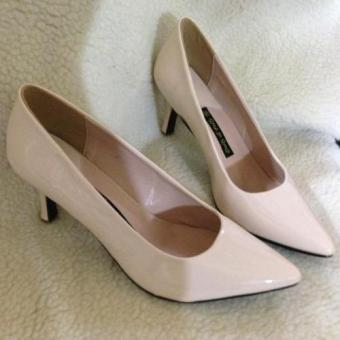 Giày cao gót mũi nhọn công sở Dolly & Polly