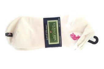 Bộ 3 Đôi Tất Nữ U.S. Polo Assn. Women's Anklets Socks (Trắng)