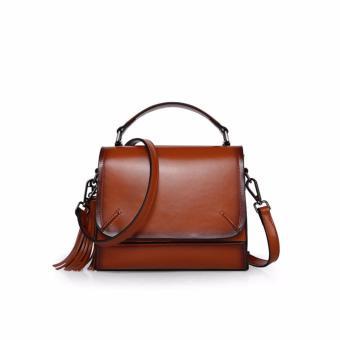 Túi xách nữ cao cấp phong cách trẻ trung QSL087 (Nâu) - 4154302