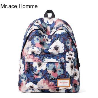 Balo Thời Trang Mr.ace Homme MR15D0173Y01 / Xanh phối hoa
