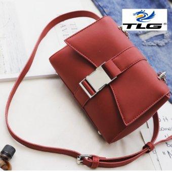 Túi nữ thời trang cá tính Đồ Da Thành Long TLG 208095-3(đỏ)