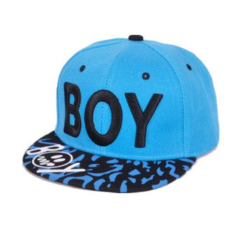 Children Boys&Girls Outdoor Letter Baseball Caps Snapback Hats - Intl