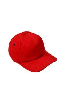Nón Lưỡi trai vải trơn thời trang Juliecaps (Đỏ)