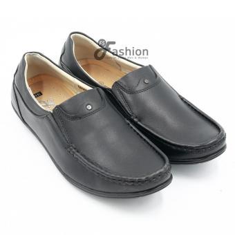 Giày Mọi Nam Da Thật GM226 (Đen)
