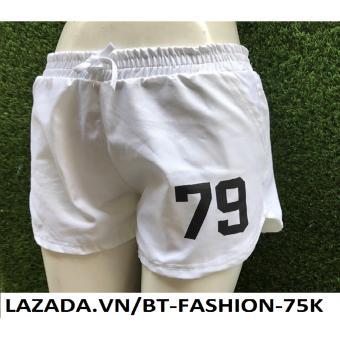 Quần Sọt (Short) Kaki Thể Thao Thời Trang - BT Fashion SO019A (79 - Trắng)