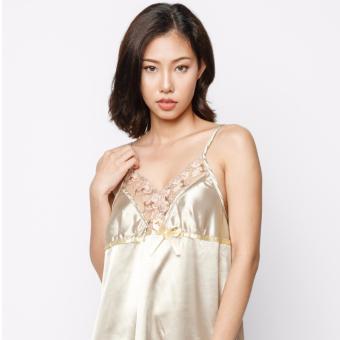 Đầm ngủ Sexy nữ A805FVK (Vàng)