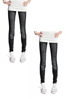 Bộ 2 quần legging Huy Kiệt HK98 (Đen)