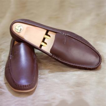Giày da nam, giày lười da bò cao cấp, mẫu mới 2017 G030P