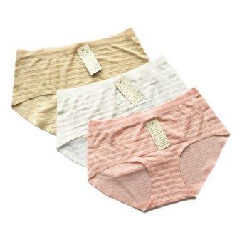 Bộ 3 quần lót lẻ thông hơi Thái Lan không đường may MPShop Nobra (Da trắng hồng nhạt)