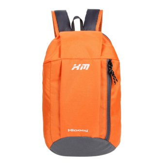 Women Daily Backpacks Canvas School Bag Travel bag(Orange) - INTL