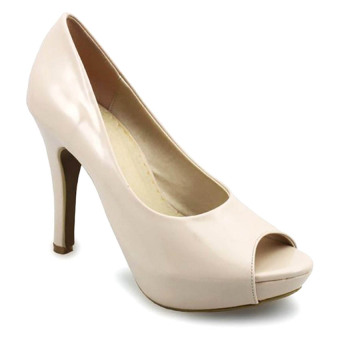 Giày cao gót G alanti GS14-018-40-K (Kem)