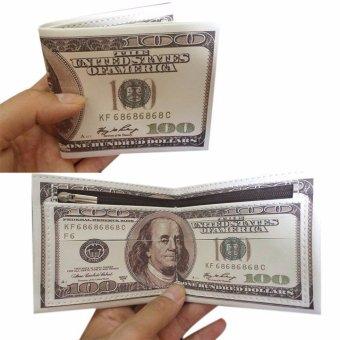 Bộ 2 ví da Nam 100 USD