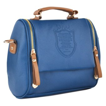 Cyber Women Handbag Cross Body Shoulder Bag Messenger Tote Bags (Blue)