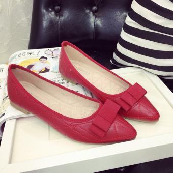 Giày búp bê -145 (Đỏ)