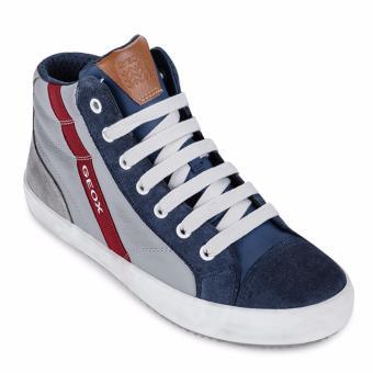Giày sneakers trẻ em J ALONISSO B. B (Xám & Xanh)
