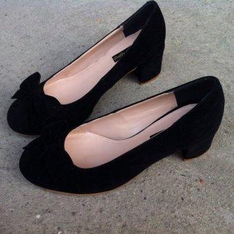 Giày cao gót búp bê DL1026 (Đen)