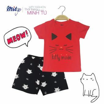 Bộ đồ kitty đỏ