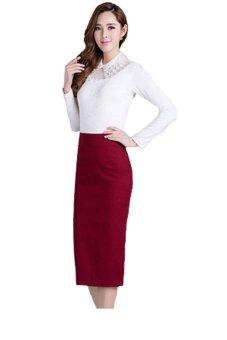 Chân váy bút chì Zahra (Đỏ)