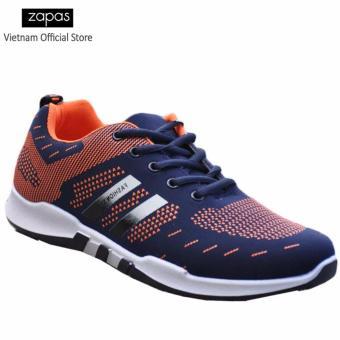 Giày Sneaker Thời Trang Nam Zapas - GS053 ( Xanh Cam )