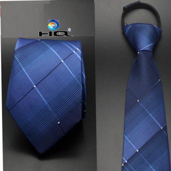 Cà vạt nam bản vừa kéo khóa HQ 2TI48 9(xanh)