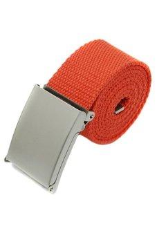 DHS Metal Buckle Belt (Orange) - intl