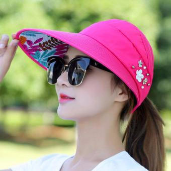 Mũ vành rộng che nắng dùng đi chơi, dạo biển, dạo phố phong cách Hàn Quốc AT Store