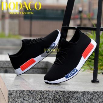 Giày Sneaker Nam Thời Trang DODACO DDC1809 A DE GNA 39 - 43 (Đen)