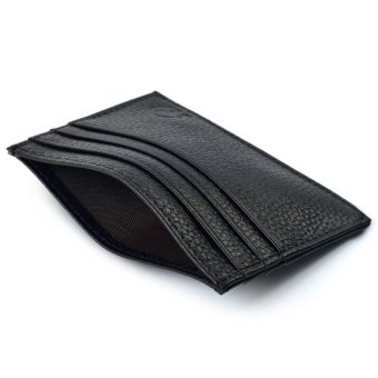 Slim Credit Card Holder Mini Wallet ID Case Purse Bag Pouch Black