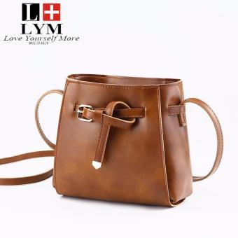 Túi đeo nữ thời trang thương hiệu LYM L1988 (màu nâu)