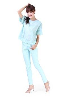 Áo kiểu nữ LADA NV8 (Xanh)