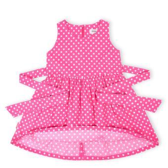 Đầm bé gái Oiwai 68-4082-412 PNK (hồng)