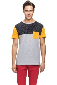 Bellfield Men's Color Block T-shirt Multi