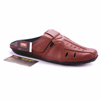 Giày Bit Sabo Nam Da Thật Vnl8az24n1 (Nâu)