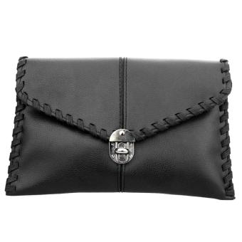 Womenhouder Bag eenger PUeather CrossBody Bag Weave (Back)