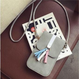 Fashion Universal Mobile Phone Bag Pocket Case Messenger Bag Shoulder Bags GY - intl