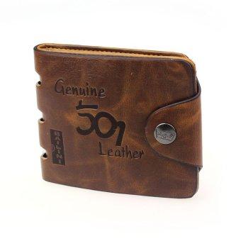 Mens Genuine Leather Bifold Wallet