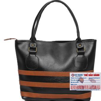 HL6139 - Túi xách viền ngang Huy Hoàng màu đen