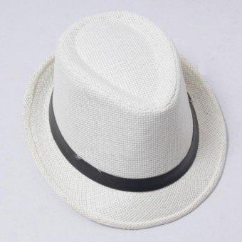 Mũ Cói Phớt Thời Trang Nam Salome Fashion