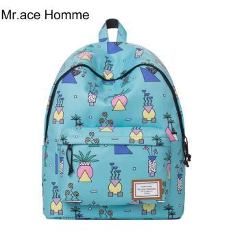 Balo Thời Trang Mr.ace Homme MR17A0500B01 / Xanh da trời