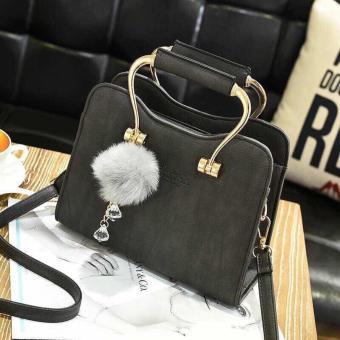 Túi xách thời trang chất liệu da cao cấp BK07 (Đen)