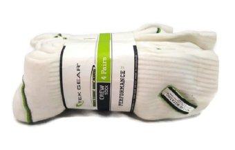 Bộ 4 đôi tất (vớ) thể thao nam Tek Gear Performance Crew Socks (Mỹ)
