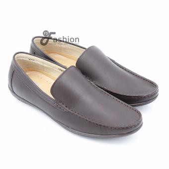 Giày Mọi Nam Da Thật GM230 (Nâu)