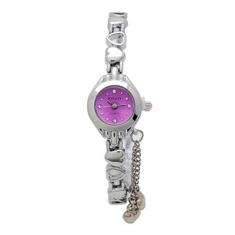 Đồng hồ nữ dây thép không gỉ Kimio KI003 (Tím)