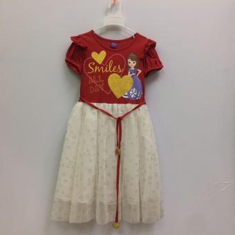 Đầm Bé Gái Disney Sofia Sfdr-0018