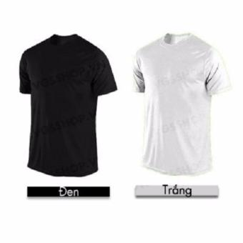 Bộ 2 áo thun LAKA A1014 (Trắng + Đen)