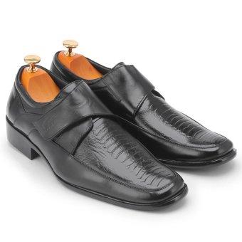 Giày tây nam da bò thật MB694 (Đen)